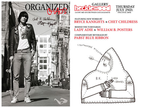 Organized Chaos - Featuring Chet Childress and Bryce Kanights @ Hecklewood