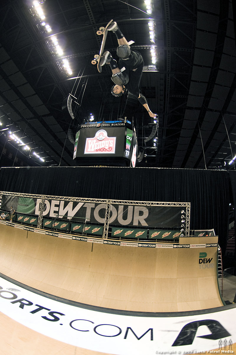Alex Perelson - Indy Air @ Dew Tour Portland