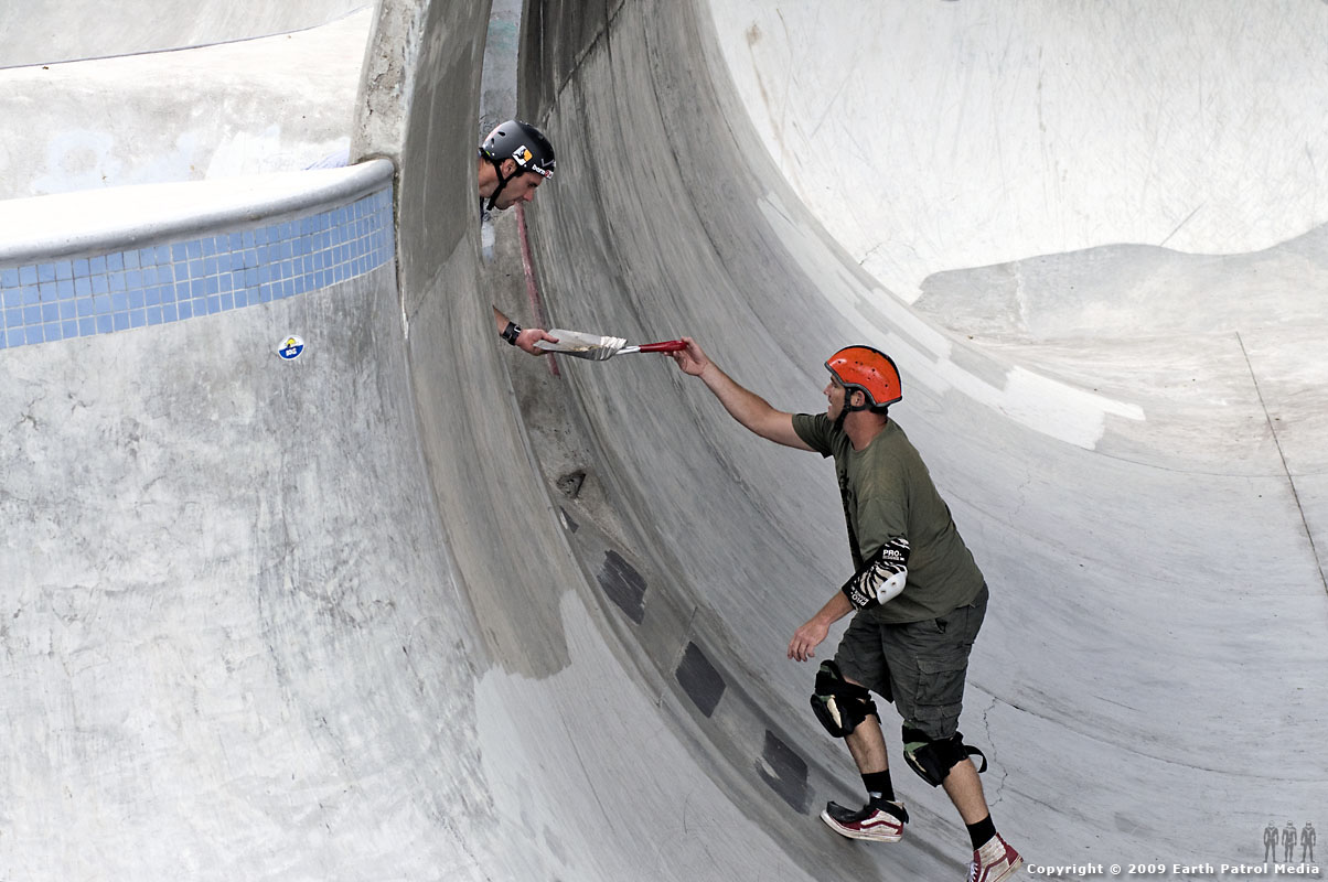 Andy Macdonald and Steve Grover - Clean Bowl @ Pier Park