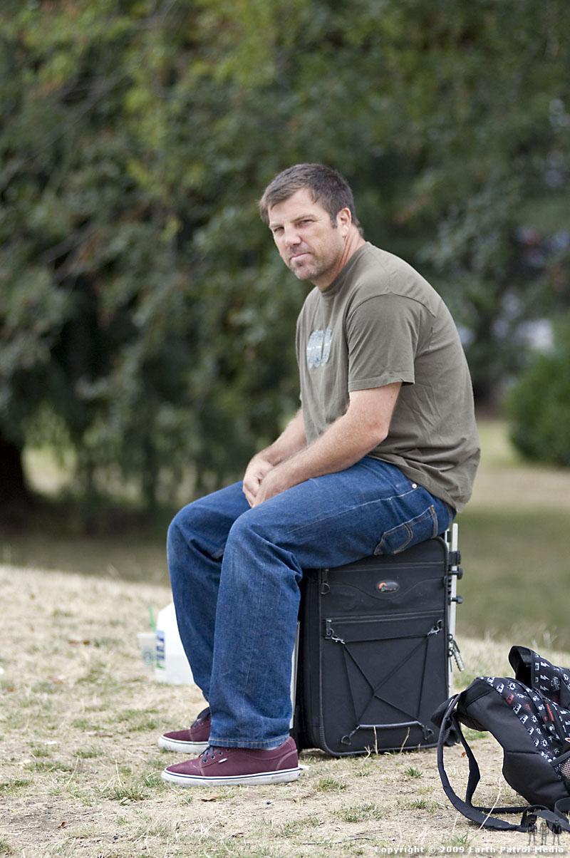 Bryce Kanights - Resting on Photo Bag @ MC's Bowl