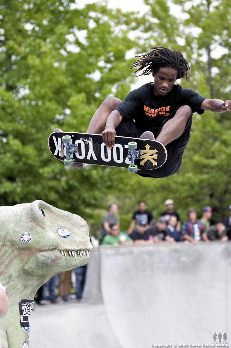 Demarcus - Big Air over the Dino @ Tigard