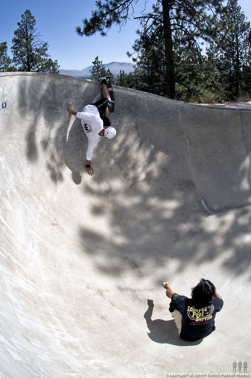Chris Strople - Bert Grind and Wally on Video Cam @ Treasure Bowl
