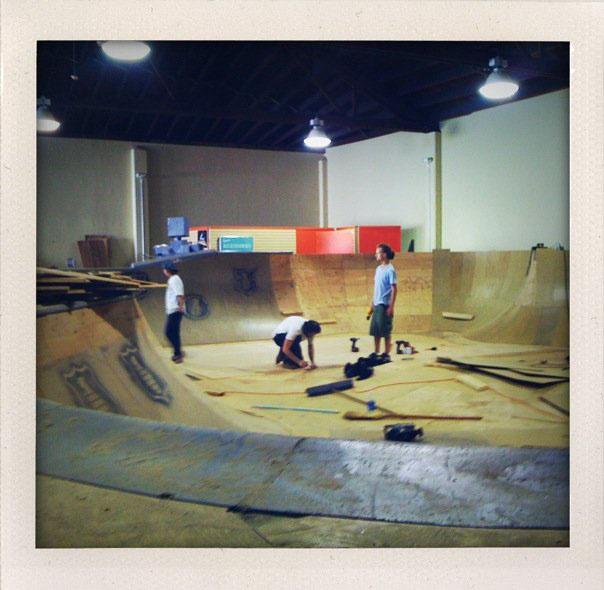 Bowl Construction - Epic Indoor Skatepark