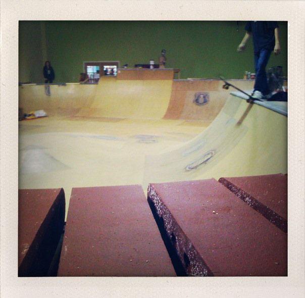 Brick Coping - Epic Indoor Skatepark