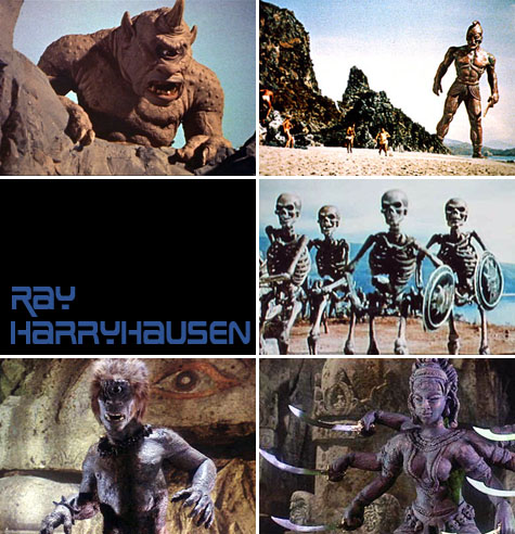 Ray Harryhausen Films on Earth Patrol