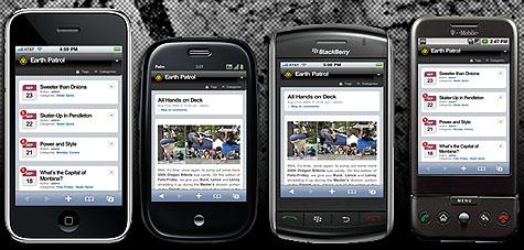 Earth Patrol Mobile Apps