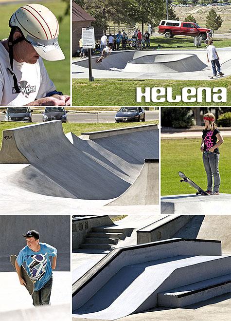 Helena Skatepark - Helena, Montana