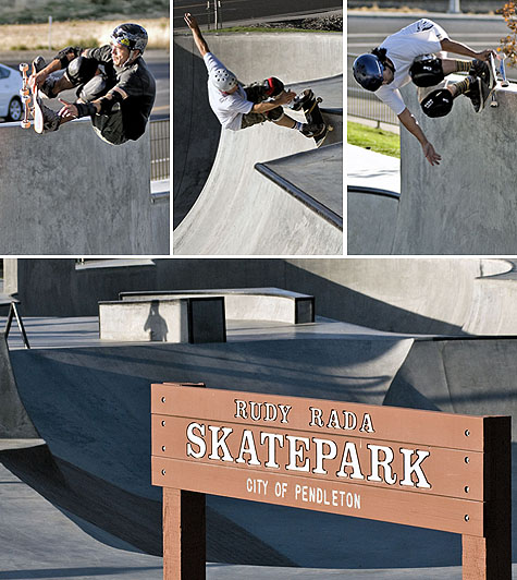 Pendleton Skatepark - Pendleton, Oregon