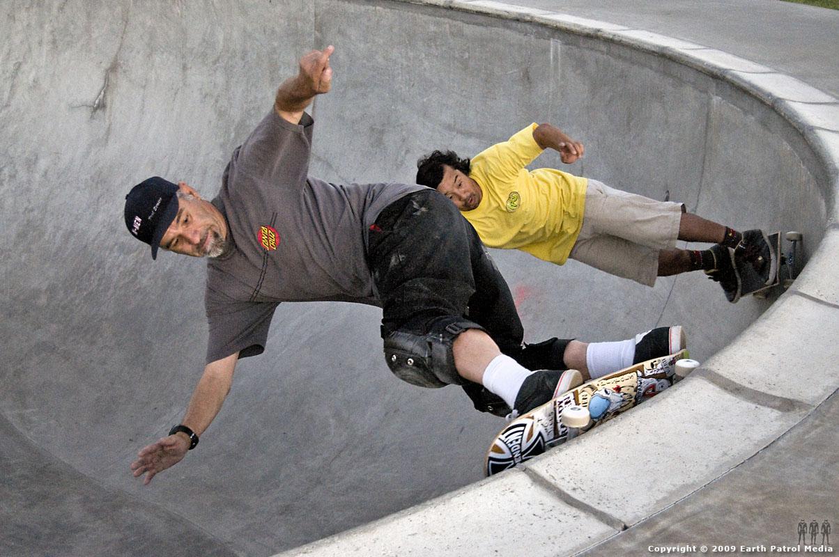 Randy Katen and Wally Inouye - Doubles @ Butte