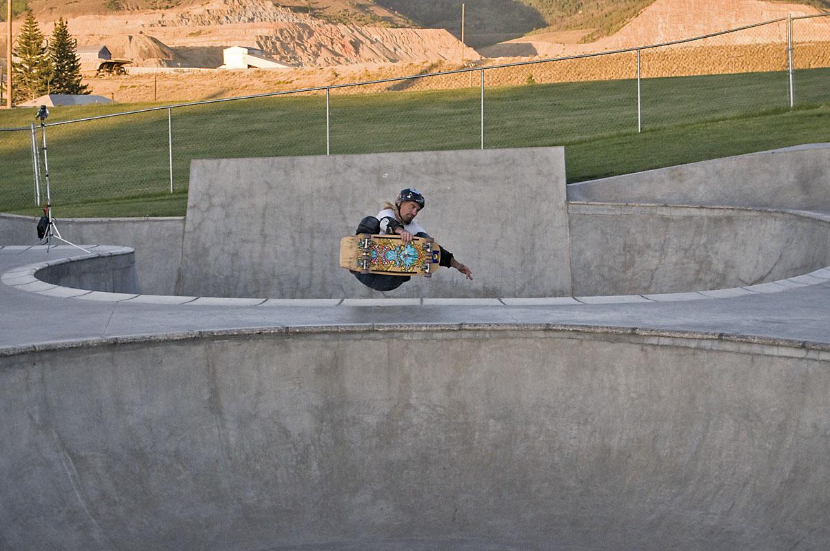 Rockin' Ron - 8_Wheeler FS Air @ Butte