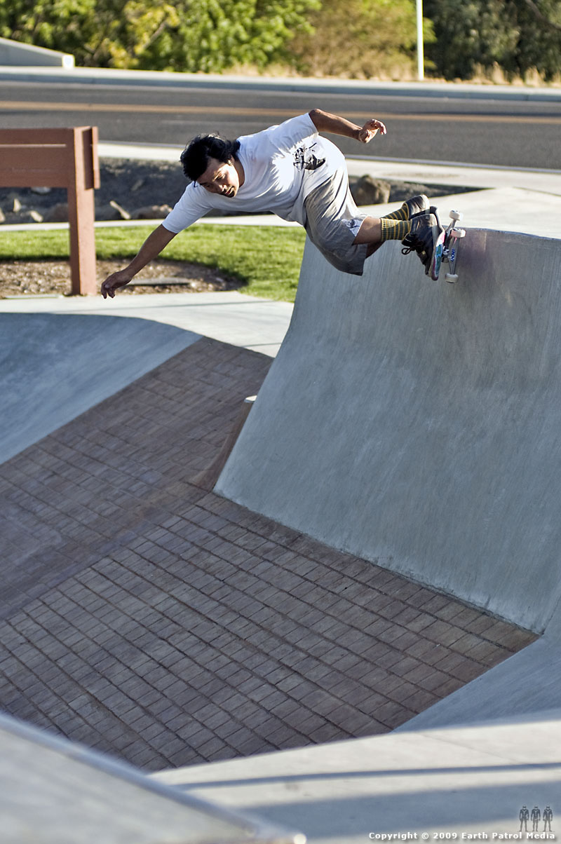 Wally - BS Grind Bank @ Pendleton