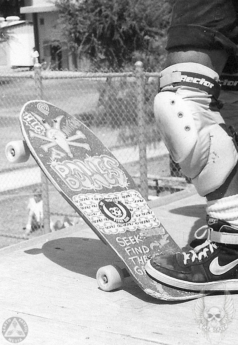 Cab - Foot on Tail : Cal Skate Relic
