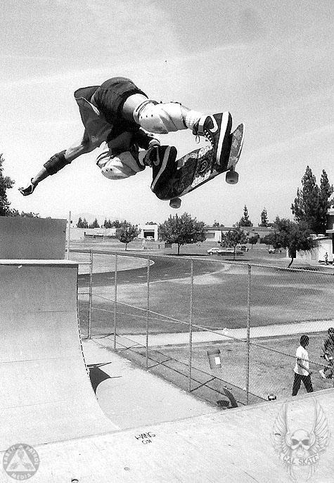 Cab - BS Air : Cal Skate Relic