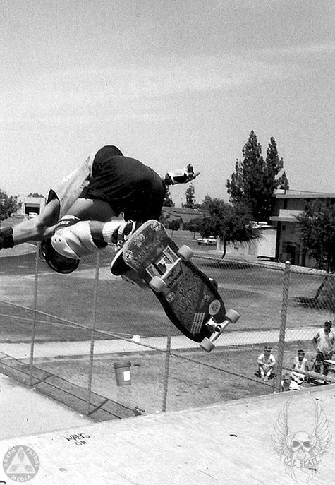 Cab - BS Ollie : Cal Skate Relic