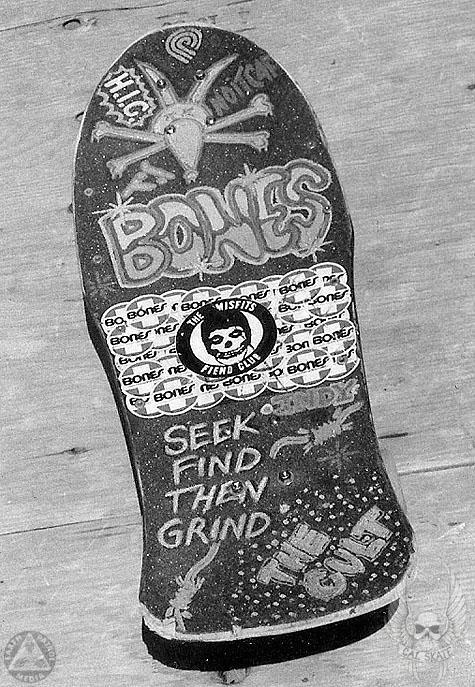 Cab - Board Art : Cal Skate Relic