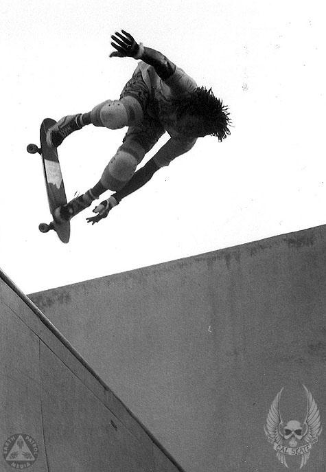 Steadham - BS Ollie : Cal Skate Relic