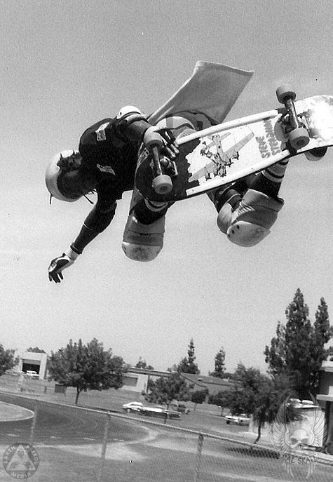 Steadham - BS Air : Cal Skate Relic