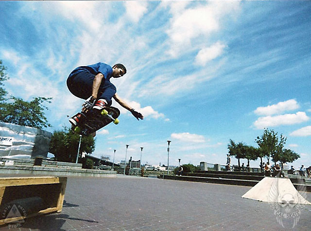 Backside Air @ Waterfront Park