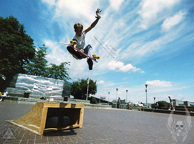 Frontside Something @ Waterfront Park