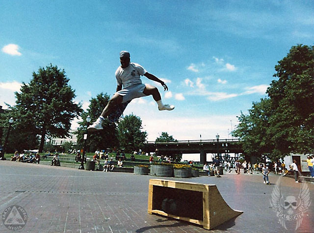 Backside Bail @ Waterfront Park