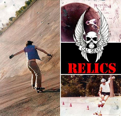 Cal Skate Relics - Random Terrain