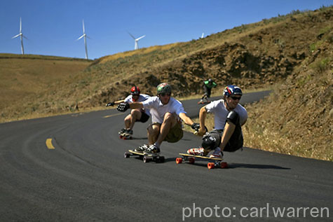 Downhill at Maryhill - Photo: Carl Warren