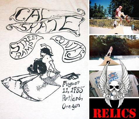 Cal Skate Relics - Mt. Tabor Street Ramp Contest 1985