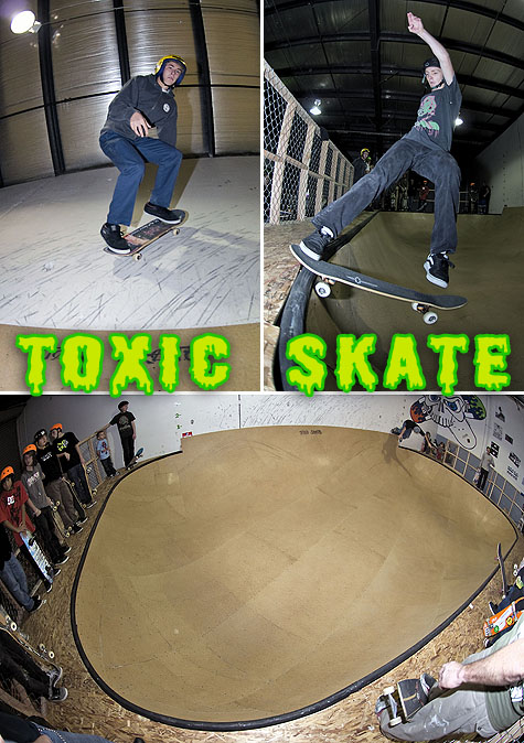 Toxic Skate: Skate Shop and Indoor Skate Park - Vancouver, WA