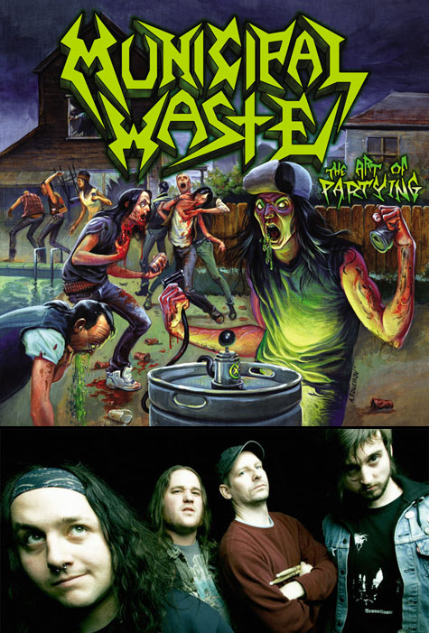 Municipal Waste on Earth Patrol YouTube Tuesday for December 1, 2009