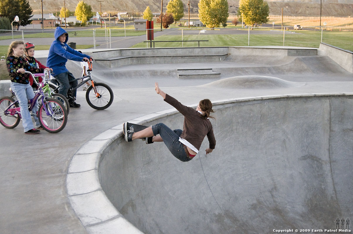 Kim Petersen - FS Grind for Kids @ Butte
