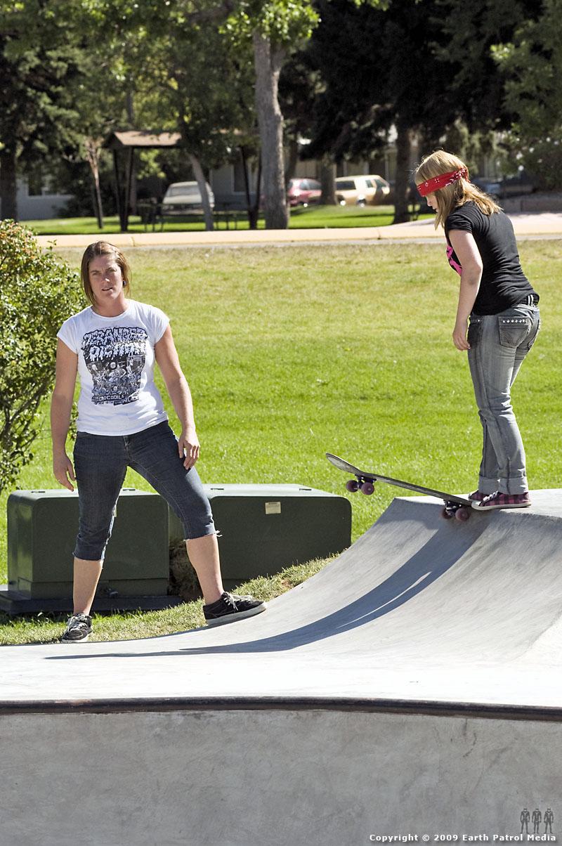 Kim Petersen - Skate Coach @ Helena