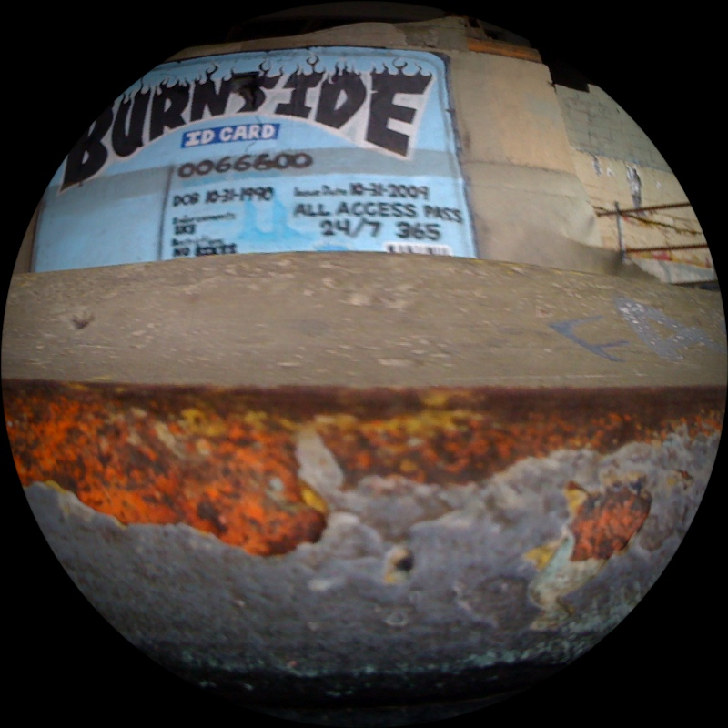 Burnside - Fisheye Filter