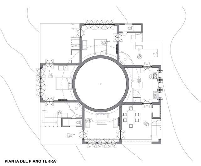 Observatory Beach House: Drawing 1 - Tatiana Bilbao