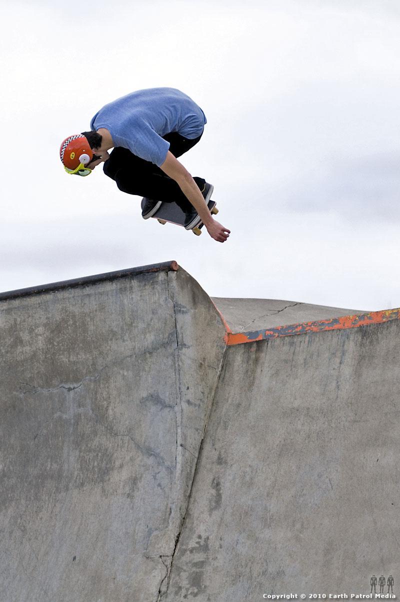 Nate Frank - BS Ollie Ally-Oop 2 @ Newberg