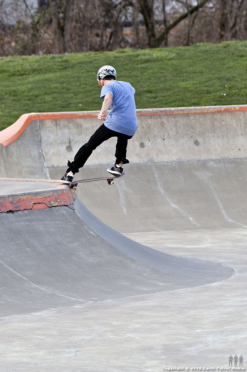 Nate Frank - Front-tail @ Newberg