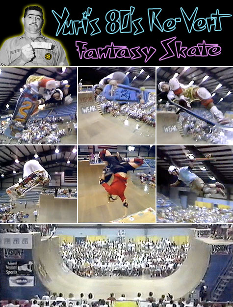 Yuri's 80's Re-vert Fantasy Skate - Chicago Blowout 1986 NSA