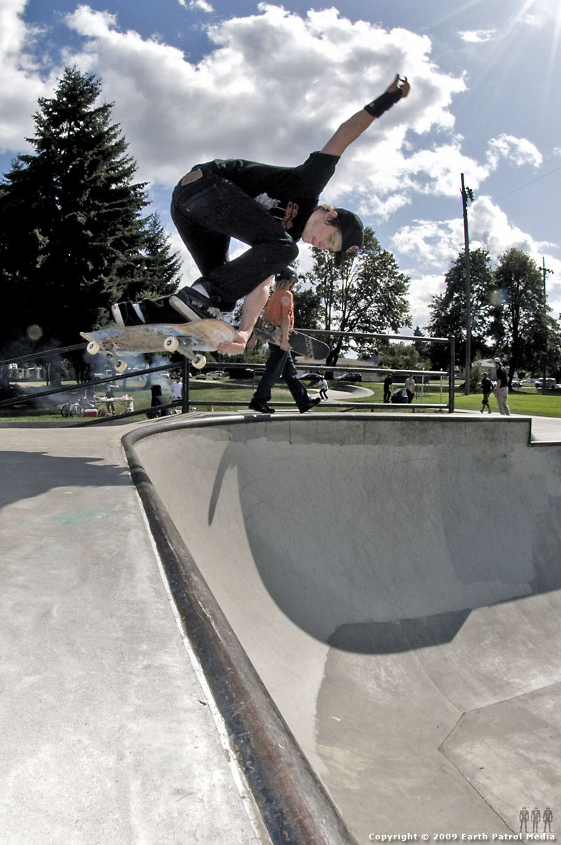 Chris Nukala - Backside Crail Disaster @ Pier Park