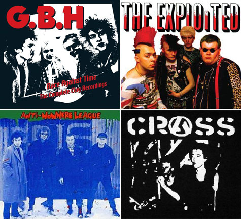 Anti-Nowhere League, The Exploited, Crass and GBH on Earth Patrol YouTube Tuesday
