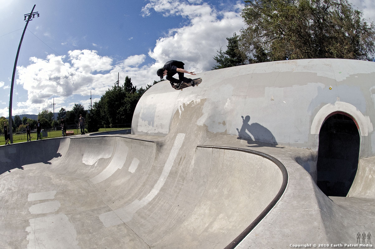 Chris Nukala - BS Air to Pipe @ Pier Park