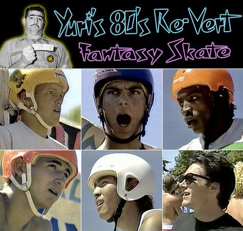 Yuri's 80's Re-Vert Fantasy Skate - Vancouver B.C. 1985
