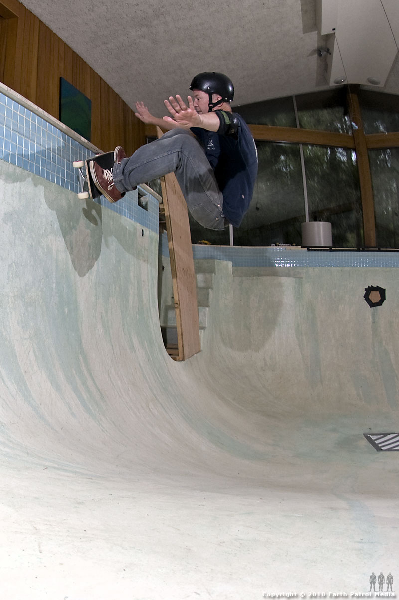 Mike Swim - FS Snapback Side Wall @ Bamboo Bowl