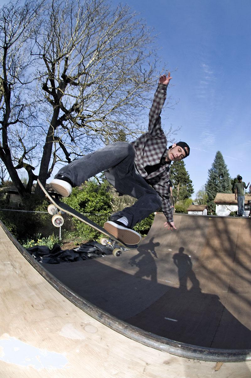 Judd Pulver - Fakie Ollie @ Jack's Ramp