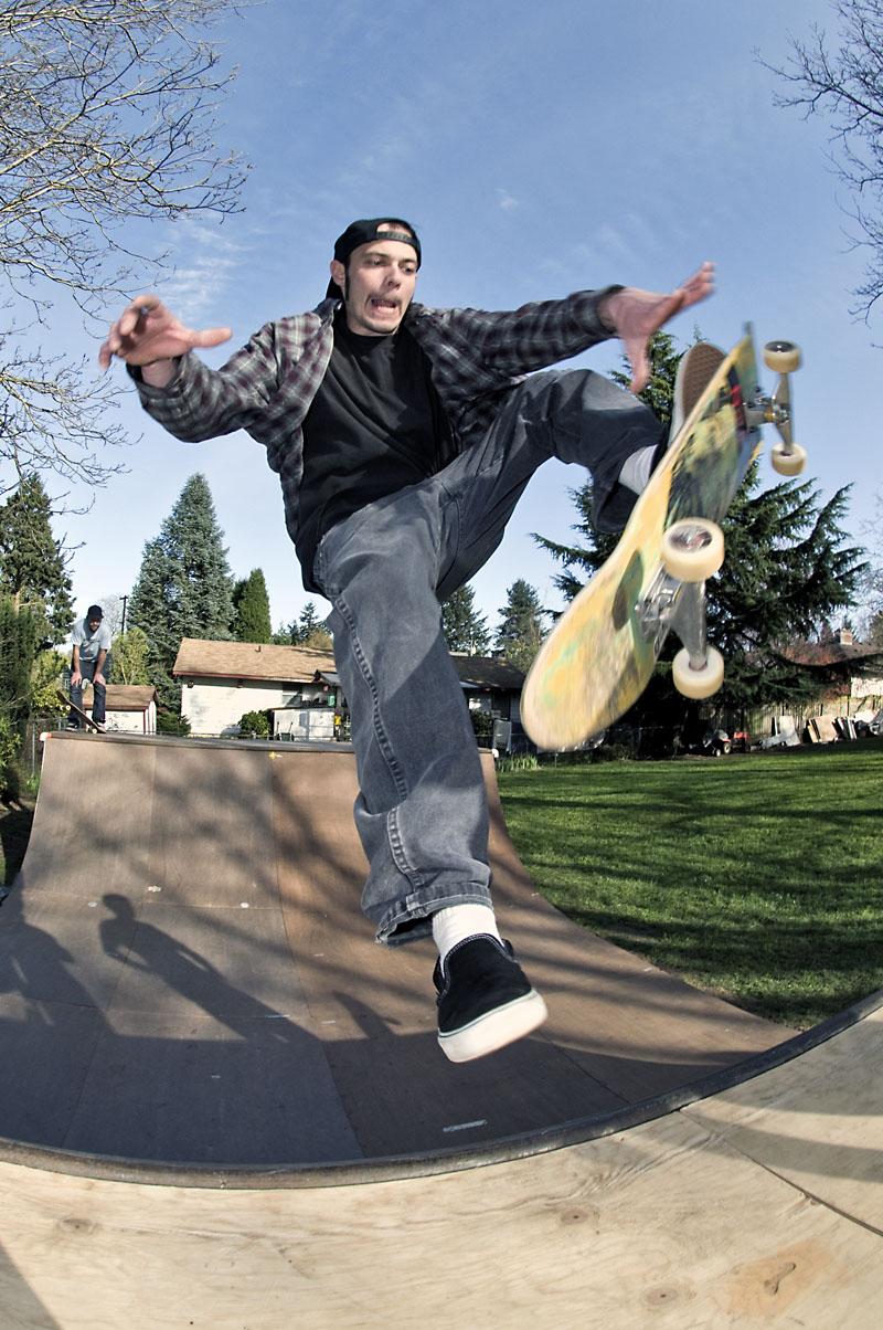 Judd Pulver - FS Fastplant @ Jack's Ramp
