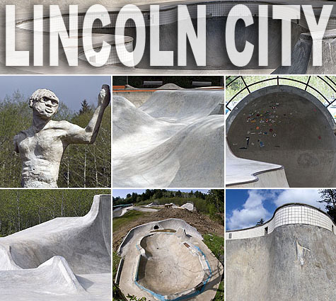 Lincoln City Skatepark - Phase V 2010 on Earth Patrol
