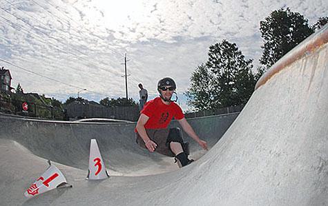 Shawn @ West Linn Park Slalom