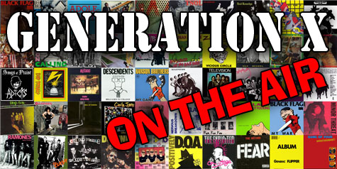Randy Katen's Generation X - Airs Today, 5-7pm PST