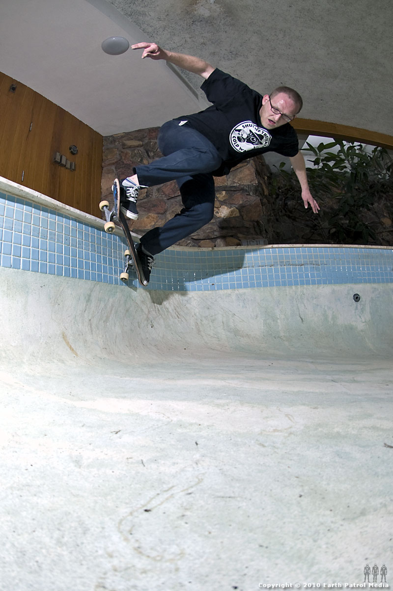Marek Litinsky - BS Shallow Pocket @ Bamboo Bowl