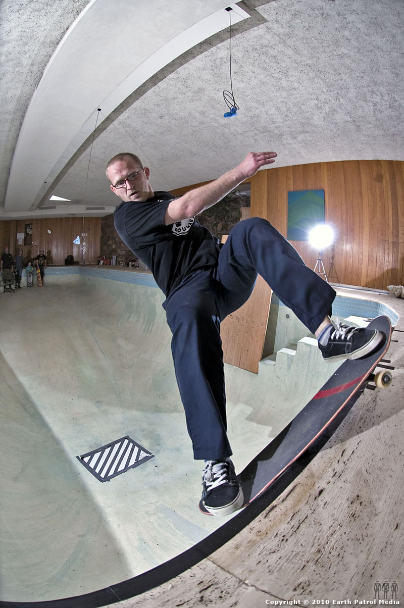Marek Litinsky - FS Smith Attempt @ Bamboo Bowl