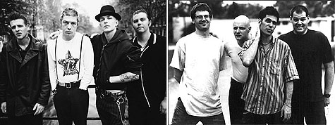 Rancid and The Descendents on Earth Patrol