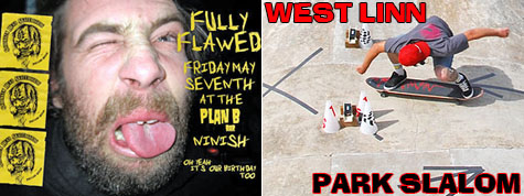 Shrunken Head Birthday Bash/Video Premier - West Linn Park Slalom